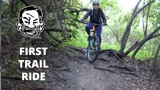 Your First MTB Trail Ride - Mountain Biking...