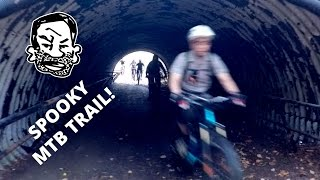 Mountain Bike Trails in Spooky Abandoned...