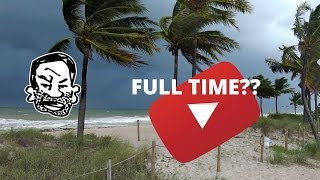 YouTube full time, Hurricane Matthew, Patreon...