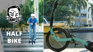 Crazy trike with rear wheel steering! - The...