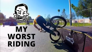 2 Minutes of my Worst Riding