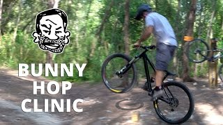 How to Bunny Hop - My First MTB Clinic