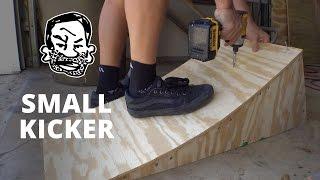 Portable kicker ramp for BMX or MTB