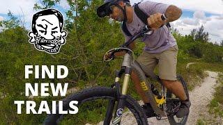 Finding new MTB trails