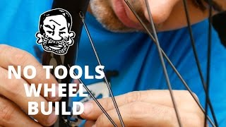 Let's build a wheel with no tools!