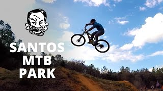 Riding Santos MTB Park with Phil Kmetz