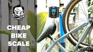 How to weigh a bike