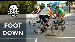 How to play footdown