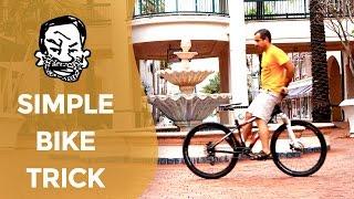An easy bike trick anyone can do - Sitting...