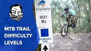 MTB Trail Signs - Novice, Intermediate, &...