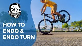 How to endo & 'endo turn' a mountain bike