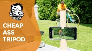 Make a DIY Phone Tripod