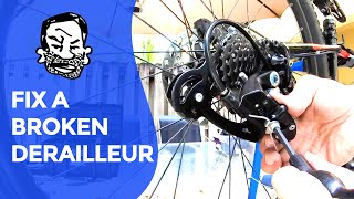 Derailleur repair for beginners