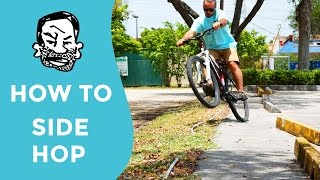 How to side hop a MTB