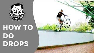 How to do drops on a mountain bike