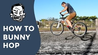 How to bunny hop a mountain bike for beginners