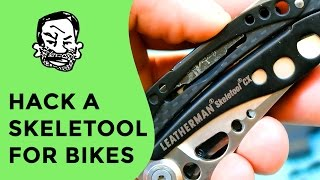 Hacking a Leatherman for Bike Repair