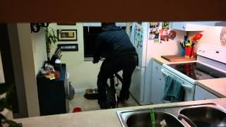 Mountain biking indoors