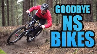 END OF SPONSORSHIP WITH NS BIKES