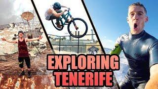 MTB, SURFING AND EXPLORING - TENERIFE VLOG