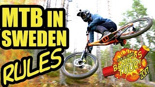 MTB IN SWEDEN RULES - BANGERS TOUR 2017