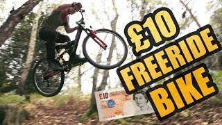 THE £10 MTB FREERIDE BIKE