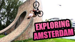 EXPLORING AMSTERDAM ON JUMP BIKES