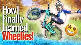 How I FINALLY learned to wheelie! - Wheelie...