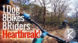 Mountain biking on Heartbreak Ridge - Pisgah NC