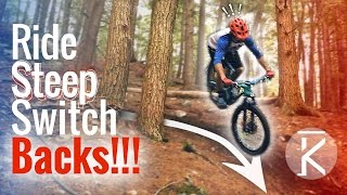 How to Ride Steep Switchbacks!!! | Mountain...