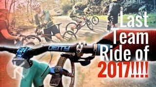 Last Lees-McRae Cycling MTB team ride before...