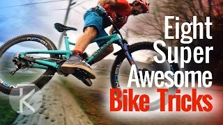 8 fun Mountain Bike tricks you can learn anywhere!