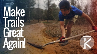 Art of Trail Building: Shaping Berms for...