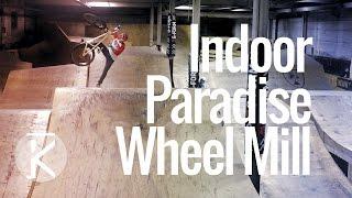 The Wheel Mill Indoor Mountain Bike Park in...