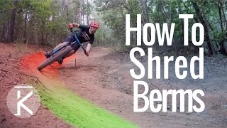 Tips for riding berms fast! Mountain bike...