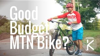 What is a good Inexpensive Mountain Bike for...