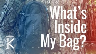 What I carry while riding in my Camelbak | MTB...