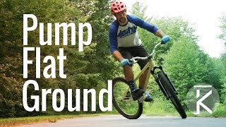 Generating speed without pedaling - Pumping...