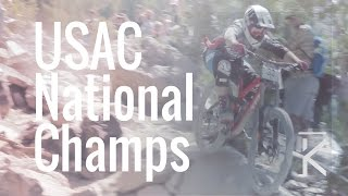 Race run  USAC Downhill National Championships...