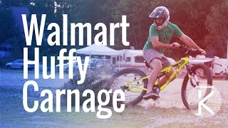 Will a Walmart Huffy survive a Downhill...