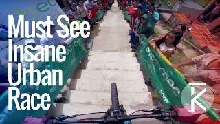 Manizales Extreme Urban downhill Race 2016 |...