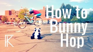 How to bunny hop a Mountain Bike Tutorial |...