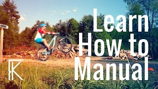 How to manual a mountain bike Tutorial |...