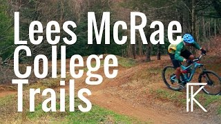 Lees McRae cycling dual slalom course and MTB...
