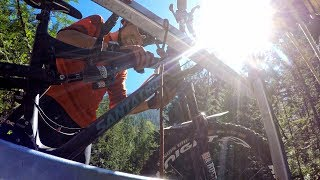 WE'RE GETTING IN THAT? | Mountain Biking Idaho...