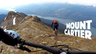 HELI-FUN ???????? Mountain Biking Mt. Cartier...