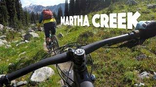 ALPINE MAGIC | Mountain Biking Martha Creek in...