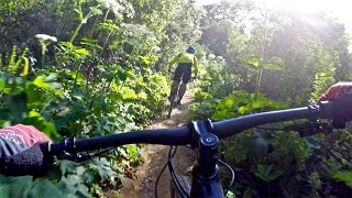 Mountain biking with the Cal Cycling Club in...