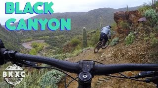 BLACK CANYON ACTION | Mountain Biking with...