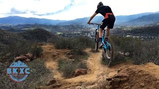 Mountain Biking the Suicide Trail with...